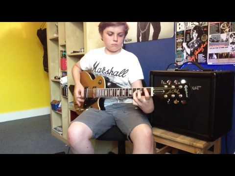 Joe Bonamassa and Beth Hart Rhymes guitar cover