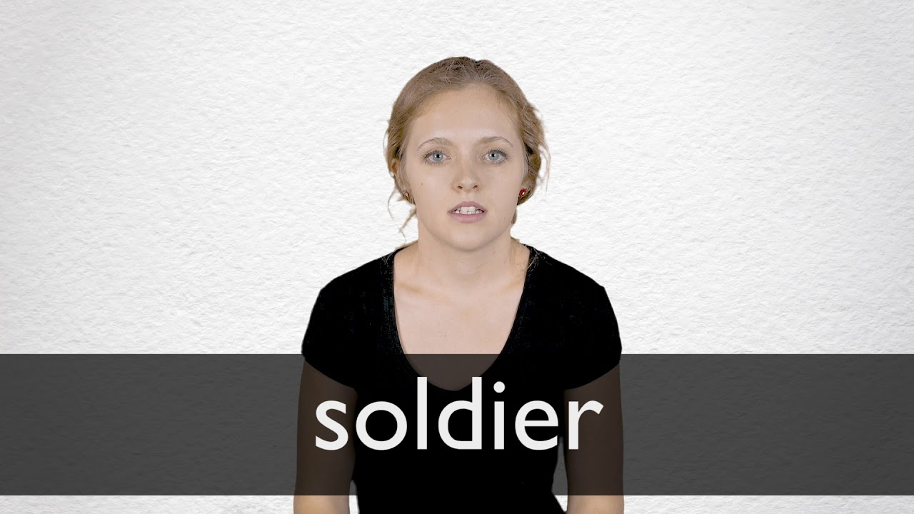 How to pronounce SOLDIER in British English