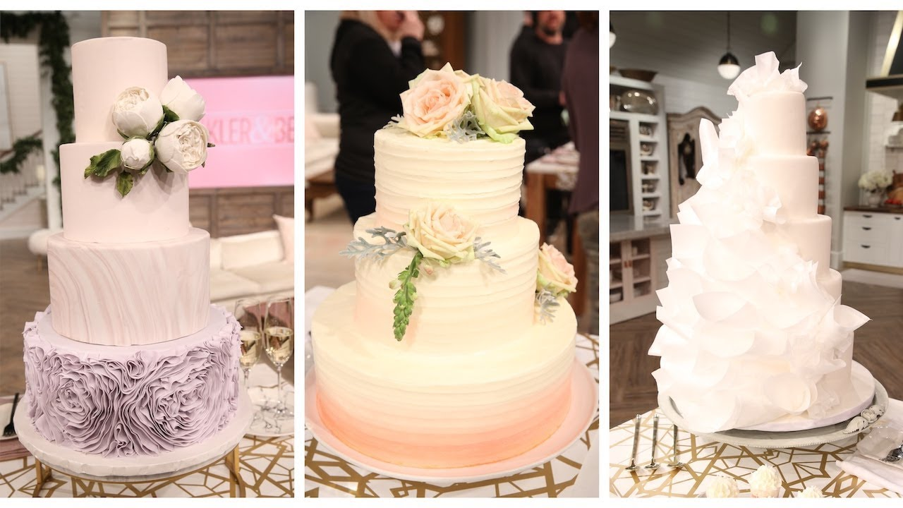 The Wedding Cake Of Your Dreams Pickler And Ben