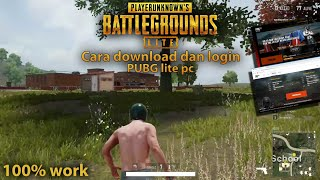 Gambar cover Cara download pubg lite pc - PUBG INDONESIA