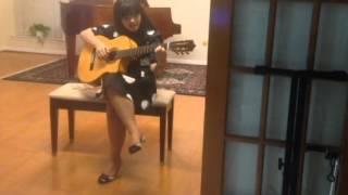 Chú Cuội (Guitar cover by little girl 12 years old)