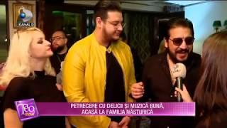 Teo Show (08.11.2019) - Petrecere cu delicii si muzica buna, acasa la familia Nasturica!