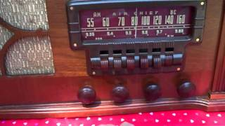 1947 Firestone Air Chief Model 4-A-21 (Adam) Vintage Radio.
