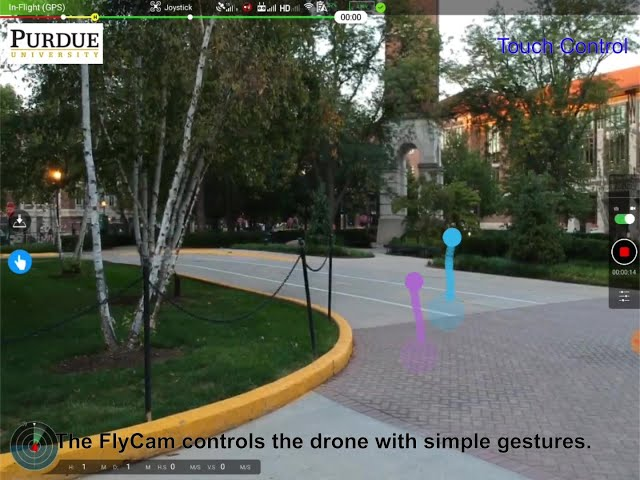 Computer graphics researchers make drone navigation easier