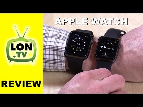 Apple Watch Review - 42 & 38 Mm - From The Perspective Of A Non Watch Owner