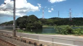 【車窓風景】 JR山陰本線 普通 揖屋→松江