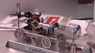 Stirlingmotor Bausatz als Franzis Lernpaket