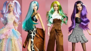 Doll Makeover Transformations 💕 Easy Barbie Doll Hairstyles Tutorial 💕 Fresh Hacks for Your Barbie