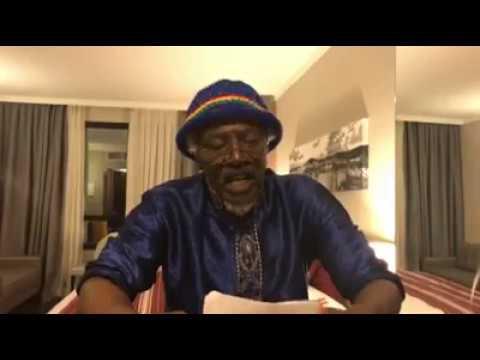 ALPHA BLONDY REVOLTE et demande  UNE REVOLUTION contre l'esclavage en Lybie, SASSOU