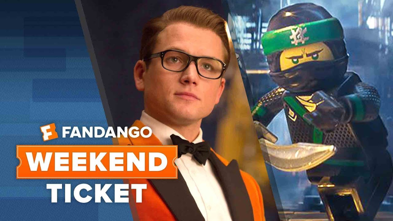 New In Theaters: Kingsman: The Golden Circle, Lego Ninjago, Battle of the Sexes - Weekend Ticket