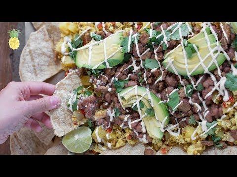 Vegan Breakfast Nachos   Healthy + Oil-Free