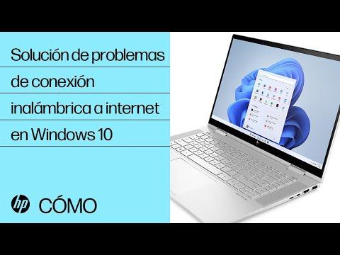 Solución de problemas de conexión inalámbrica a internet en Windows 10 | Equipos HP | @HPSupport