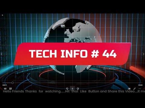 Tech Info # 44 ||Technology Tales|| My Smart Support, MIUI 10,Hydrogen One,Vodafone 999 Phone, Apple