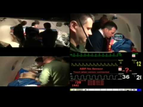 Aeromedical evacuation