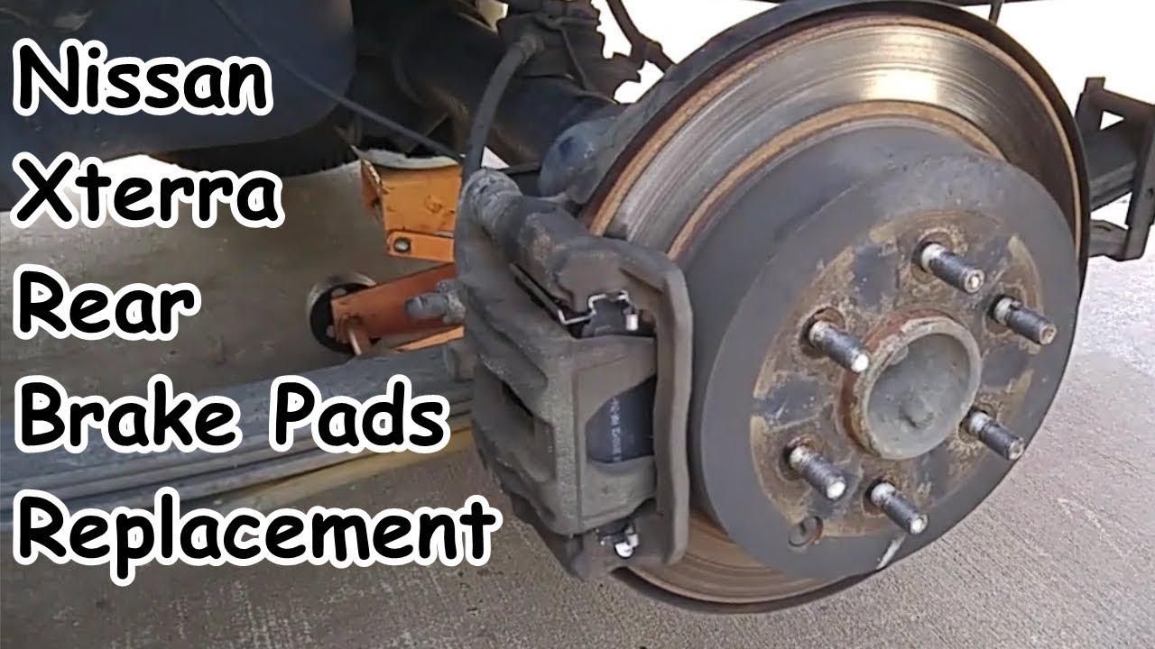 Front Rear Disc Rotors /& Ceramic Brake Pads For Nissan Xterra