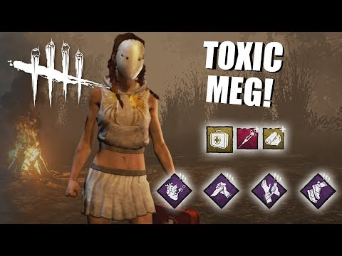 Playing As Meg Thomas BUT I'm SUPER TOXIC | Dead By Daylight