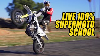 Live 100 Percent Supermoto School