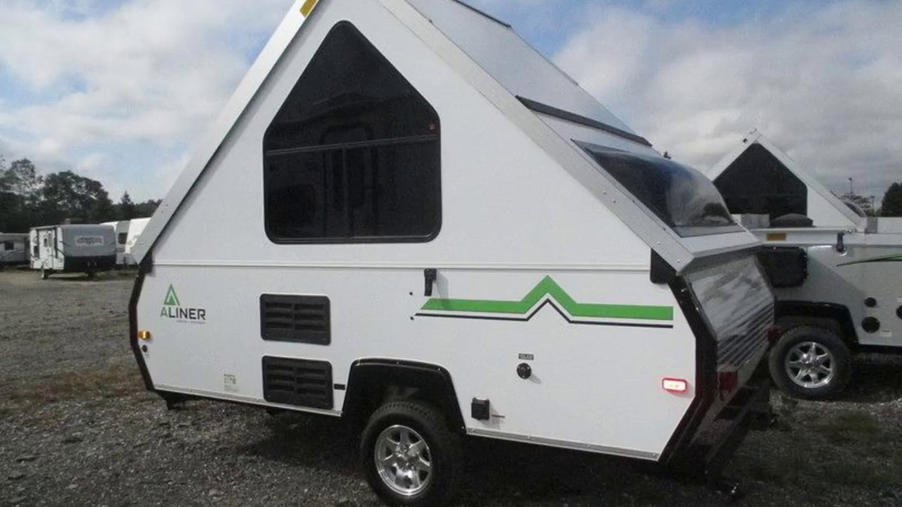 Pop Up A Frame Camper New 2017 Aliner Scout Pop Up Camper