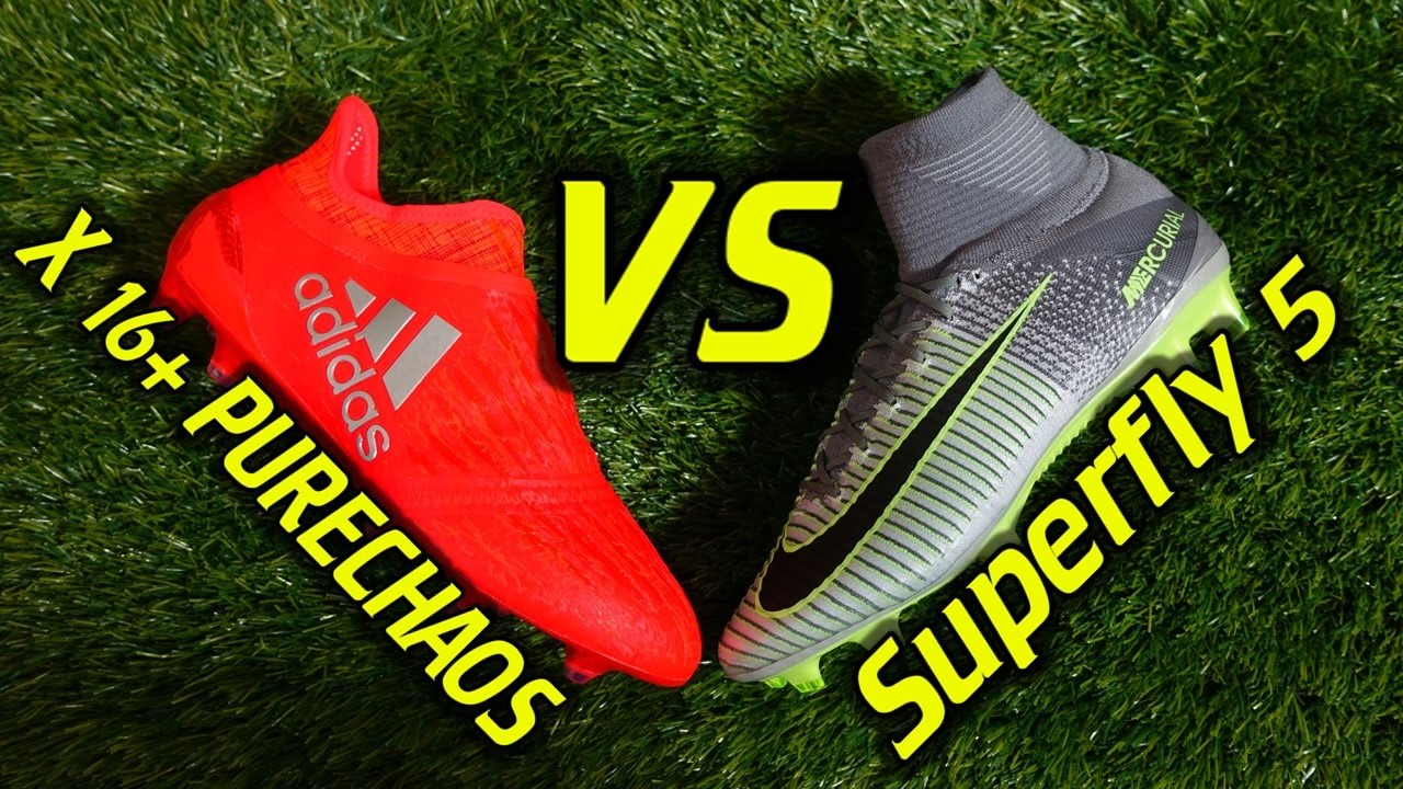 Adidas Vs Nike Football Shoes