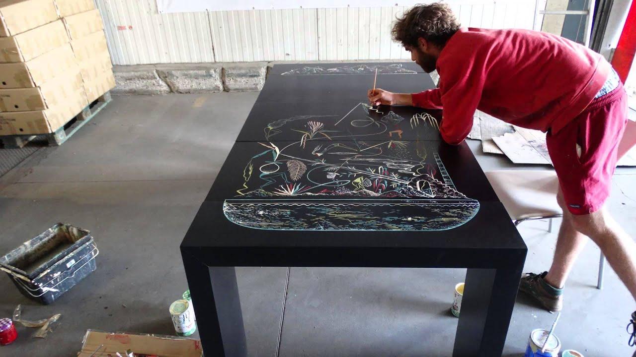 Mioshe graffe la table console extensible menzzo fr hsa - Table console menzzo ...