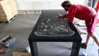 Mioshe Graffe La Table Console Extensible Menzzo.fr #hsa