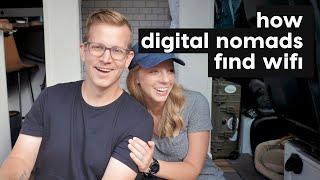8 Ways We Find Wi-fi While Traveling //  VAN LIFE // DIGITAL NOMADS