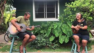 "Jack Johnson & Paula Fuga - ""Country Road and Give Voice"" Kokua Festival 2020 Live From Home"