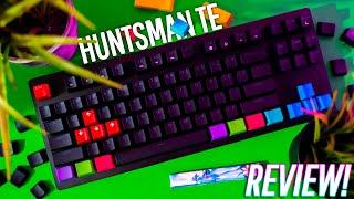 Razer Huntsman Tournament Edition! FASTER & CHEAPER Than The APEX PRO?! - Review