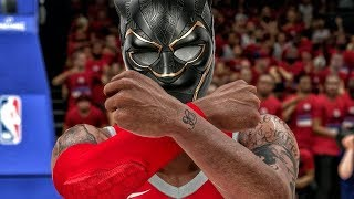 TURNING INTO BLACK PANTHER IN PLAYOFF GAME 4! NBA 2K18 My Career Gameplay Ep. 29