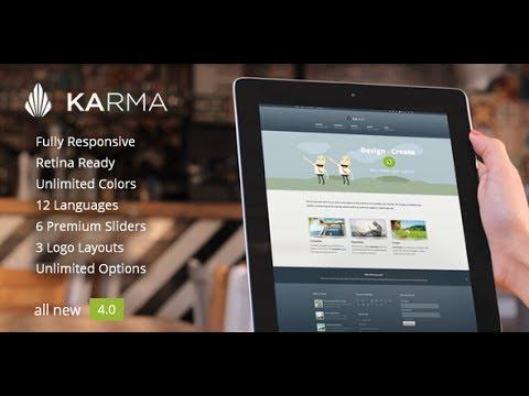 Download 'Karma' Responsive WordPress Theme