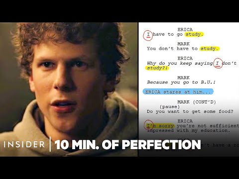 How Aaron Sorkin Creates Musical Dialogue In 'The Social Network'   10 Minutes Of Perfection