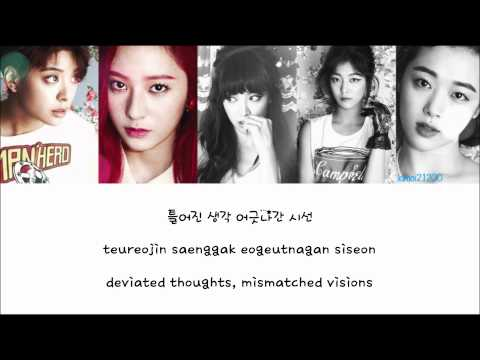 f(x) - Ending Page [Hangul/Romanization/English] Color & Picture Coded HD