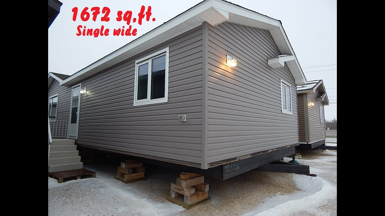 Ml 3 Mobile Home Tour 22ft X 76 Ft 1672 Sq Ft Single
