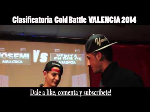 Hander VS Josemi 16avos GOLD BATTLE VALENCIA 2014