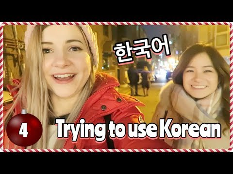 A Day in Seoul with Very Little Korean | Vlogmas Day 4