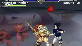 JS MUGEN Predator Hunt Sasuke 01