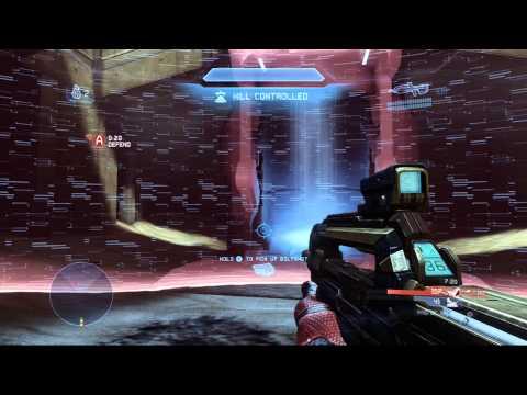 Halo 4 Multiplayer Gameplay 69 - KOTH on Vertigo - Mistakes were made...