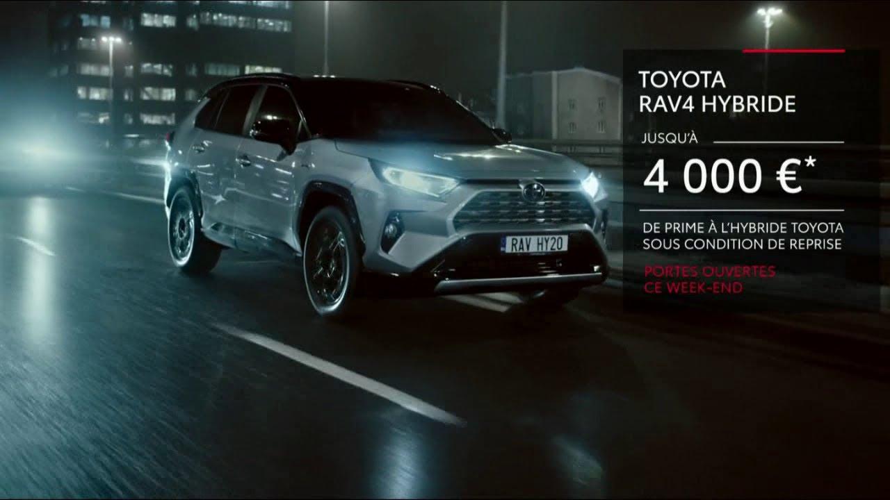 """Musique de la pub Toyota Rave4 Hybride – rentrée portes ouvertes """"préférez électrique sans aucune limite""""  2021"""