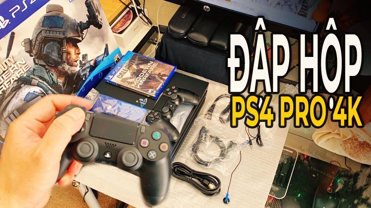 Đập hộp PS4 Pro Jet Black chơi game 4K, HDR I cuộc sống mỹ ở dallas 184