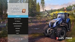 Farming Simulator 2015 tutorial PC gameplay