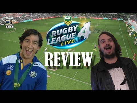 Rugby League Live 4 Review – The Gaming Critic