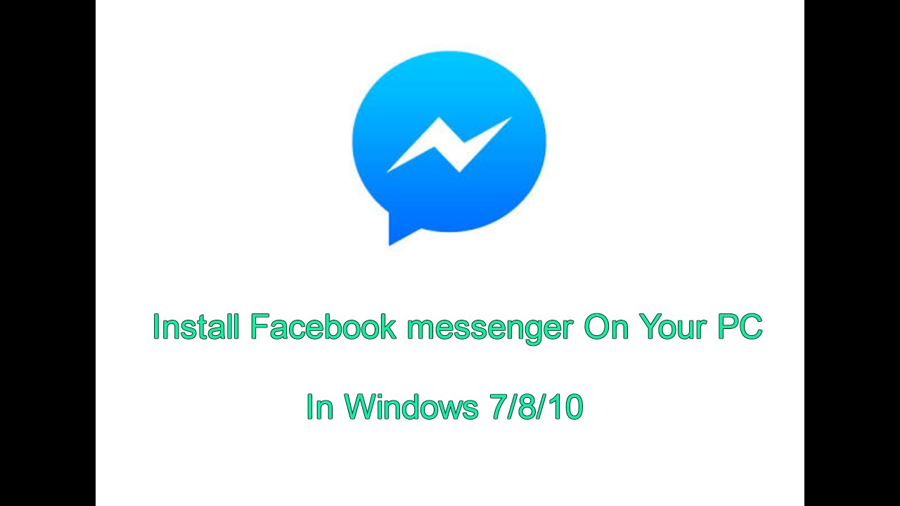 descargar facebook messenger para windows 7 64 bits