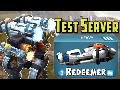 War Robots [3.5] Test Server: 2 New Weapons & Better Team Deathmatch