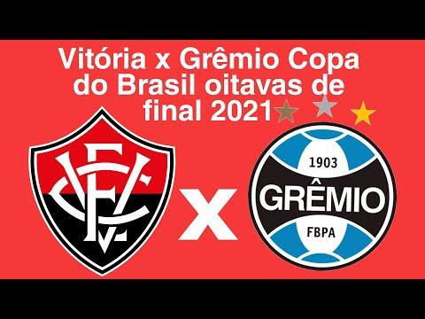 Vitória x Grêmio sorteio da Copa do Brasil 2021 oitavas de final - YouTube