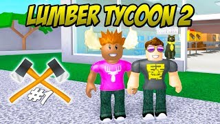 CAN ELGE TRAP TREES?! -Roblox Lumber Tycoon 2 Ep 1 Danish season 2