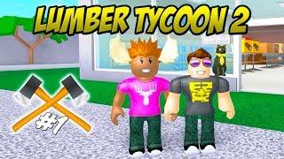 ¡¿PUEDE ELGE ATRAPAR TREES?! -Roblox Lumber Tycoon 2 Ep 1 Temporada danesa 2