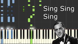 [Benny Goodman - Sing Sing Sing] Piano Tutorial
