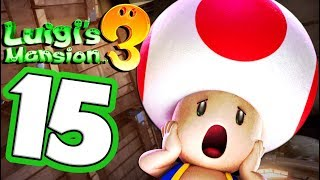 Luigi's Mansion 3 Walkthrough Part 15 TOAD Is MISSING! (Nintendo Switch) Co-Op