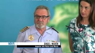 18/08/2014 Casi mil objetos perdidos han llegado este año a manos de la Policía Local de Murcia.
