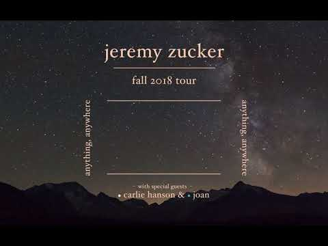 Jeremy Zucker's 'Anything, Anywhere' tour tickets available now